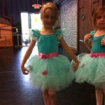 Girls in ballet